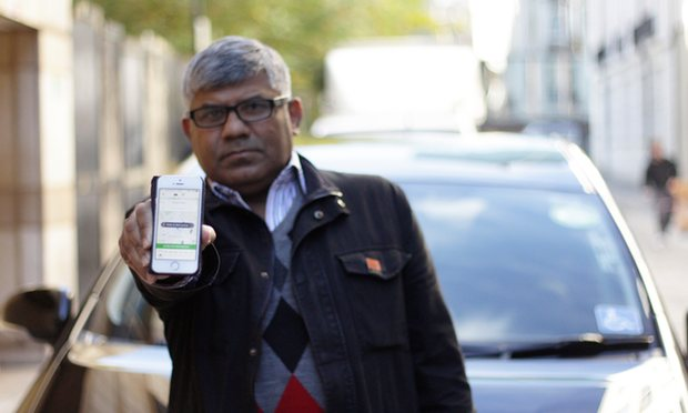 Uber loses landmark employment tribunal over driver's working rights