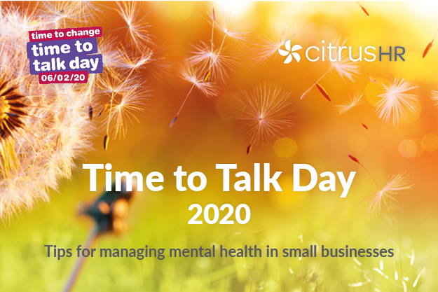 'Time to Talk'- Tips for managing mental health in small businesses