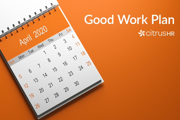 The Good Work Plan and other April 2020 employment law changes