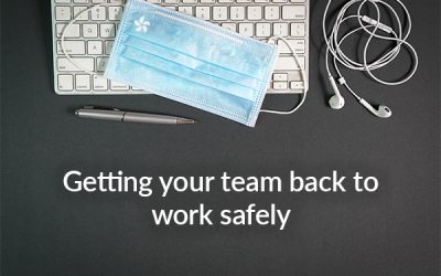 Getting your team back to work safely - Coronavirus