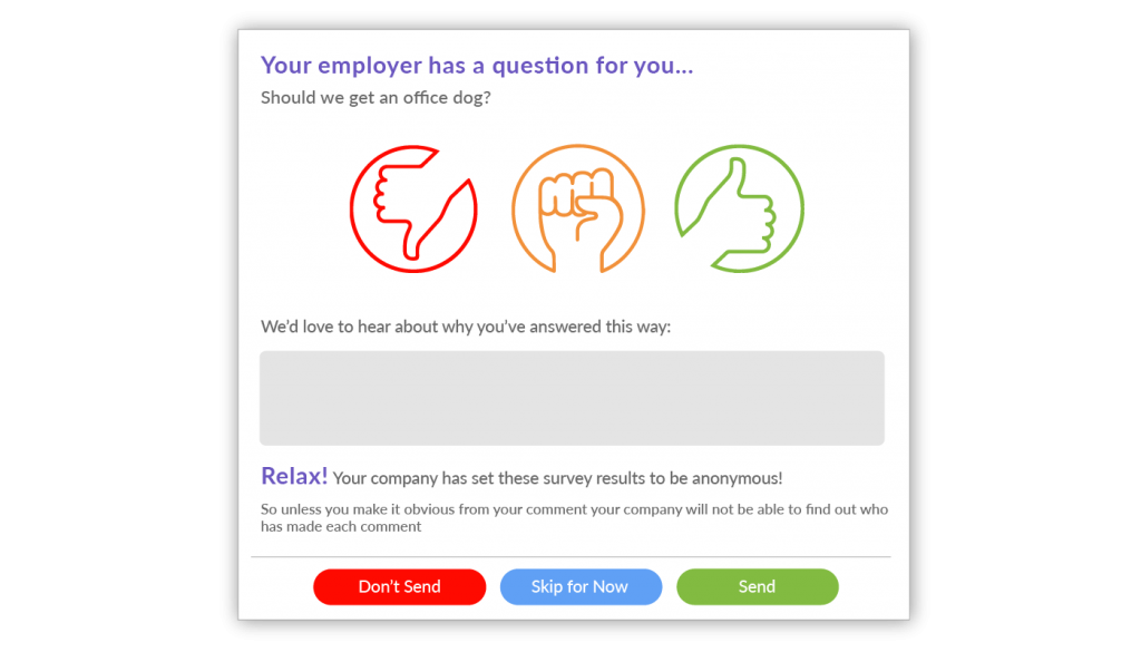 Staff Custom Survey