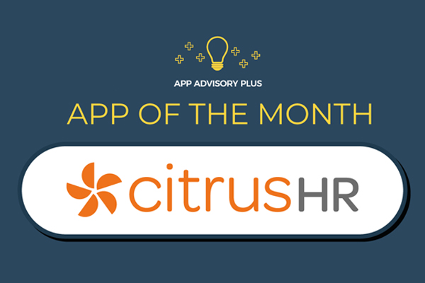 We've been awarded 'App of the Month' for July by App Advisory Plus!