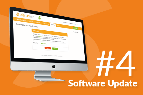#4 Some fresh software updates for spring