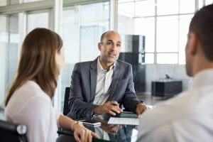 Employer consulting with employees about redundancy