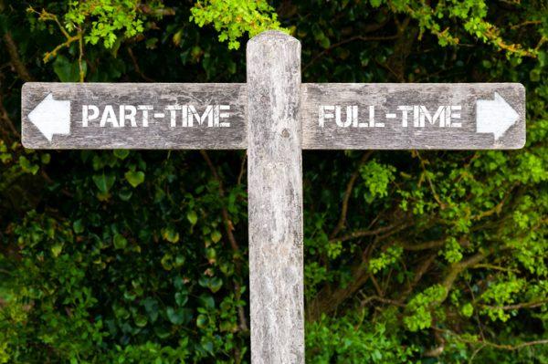The part-time problem